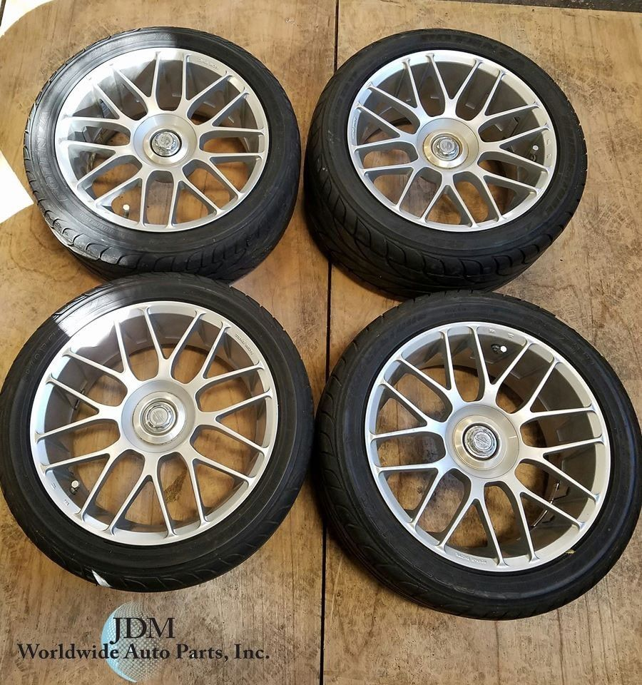 Set of 4 Sparco racing wheels With Tires